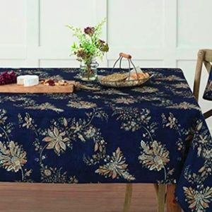 Bardwil Avignon Oblong Tablecloth, Indigo